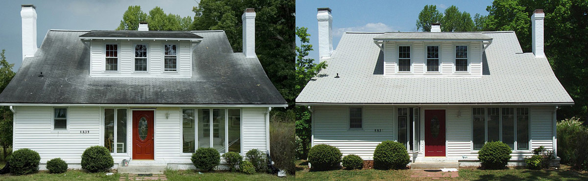 Roof Cleaning - The Alternative to Pressure Washing in Summerville, SC